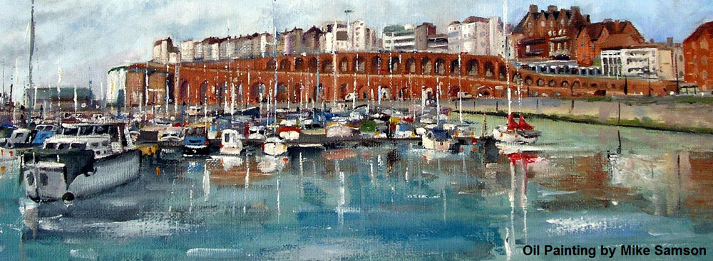 Ramsgate Harbour Painting